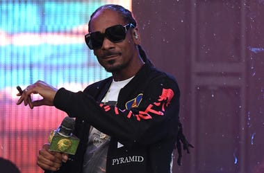 Snoop Dogg performs at the Tortuga Music Festival in Fort Lauderdale, Fla., on Friday, April 6, 2018