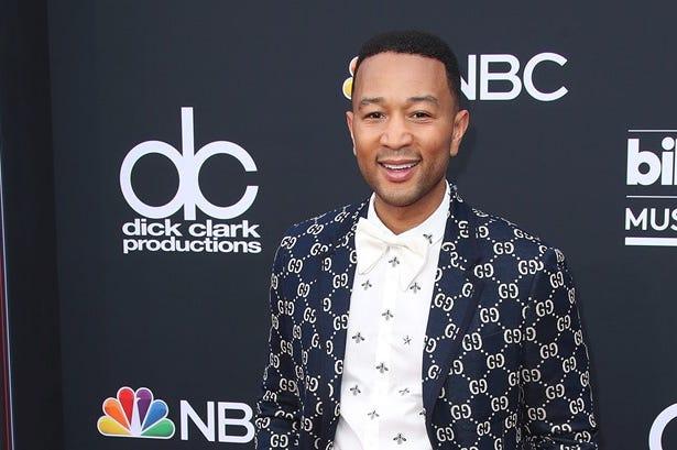 MAY 20: John Legend at the 2018 Billboard Music Awards at MGM Grand Garden Arena on May 20, 2018 in Las Vegas, Nevada