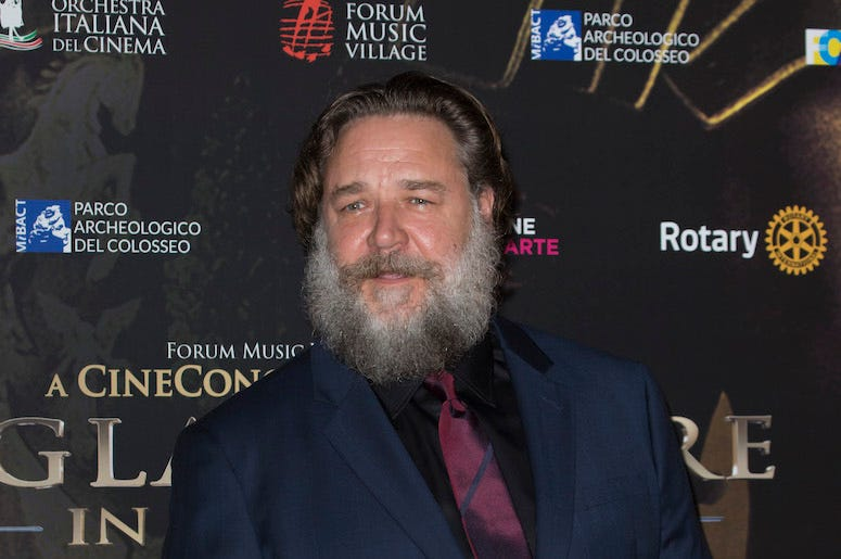 Russell Crowe, Red Carpet, Beard, Gladiator - In Concert, 2018