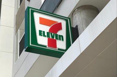 7-Eleven, Sign, Storefront, Logo