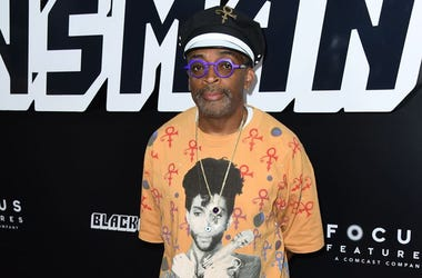 "08 August 2018 - Beverly Hills, California - Spike Lee. Premiere Of Focus Features' ""BlacKkKlansman"" held at Samuel Goldwyn Theater"