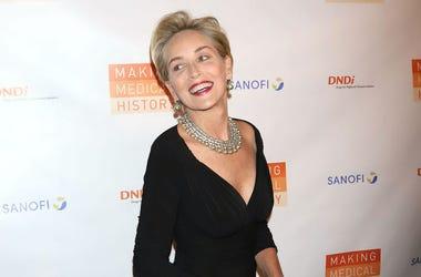 Sharon Stone, Red Carpet, Making Medical History Gala, 2018