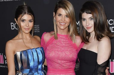Caption: (L-R) Olivia Jade Giannulli, Lori Loughlin and Isabella Rose Giannulli at The Women's Cancer Research Fund's An Unforgettable Evening Benefit Gala held at the Beverly Wilshire Beverly Hills in Beverly Hills, CA on Thursday, February 28, 2019
