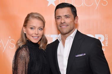 Kelly Ripa, Mark Consuelos, Red Carpet, The Trevor Project at Cipriani Wall Street, 2019