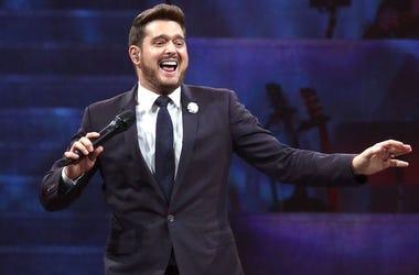 Michael Buble, Concert, Singing, Madison Square Garden, 2019