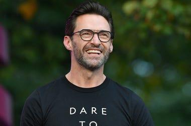 Hugh Jackman, Smile, Glasses, Global Citizen Festival, Speaking, 2019