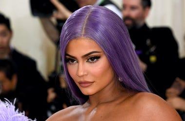 Kylie Jenner, Red Carpet, Purple Hair, 2019
