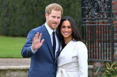 Prince Harry, Meghan Markle, Sunken Garden, Kensington Palace, 2019