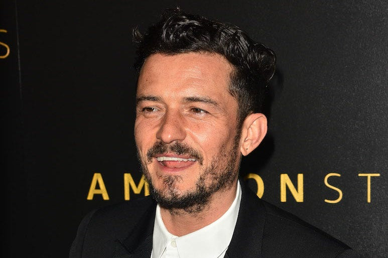 Orlando Bloom, Red Carpet, Amazon Studios Golden Globes After Party, 2020