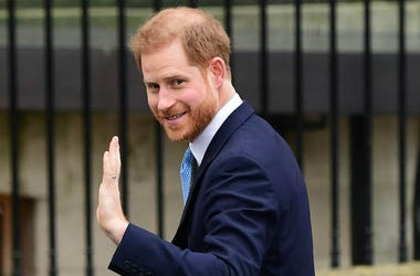 Prince Harry, Smiling, Waving, Canada House, 2020