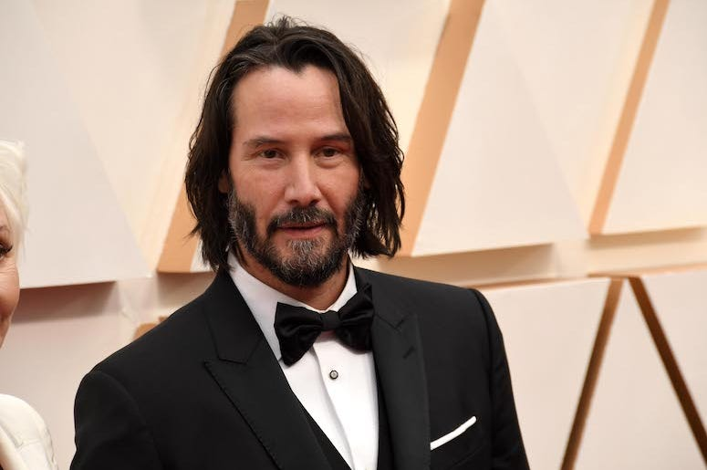 Keanu Reeves, Red Carpet, 92nd Annual Academy Awards, 2020