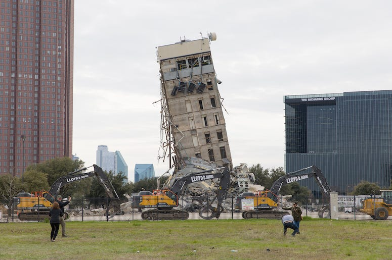 Leaning Tower of Dallas