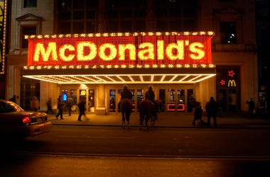 McDonald's, Times Square, West 42nd Street, Lights, 2005