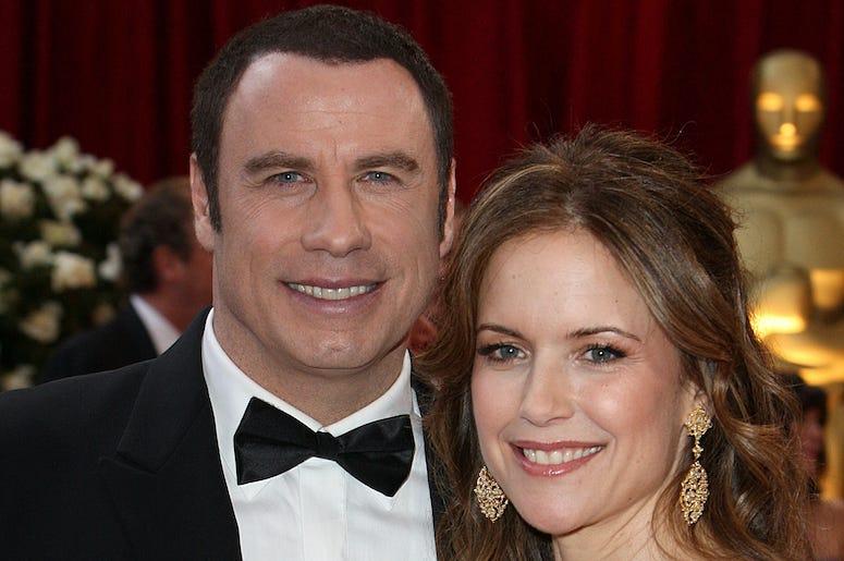John Travolta, Kelly Preston, Red Carpet, 80th Academy Awards, 2008