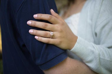 Woman, Hand, Ring, Engagement Ring, Couple, Love
