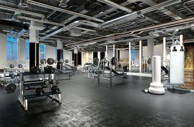 Gym, Empty, Equipment