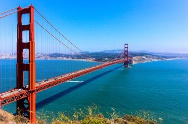 San Francisco, Golden Gate Bridge, Battery Spencer