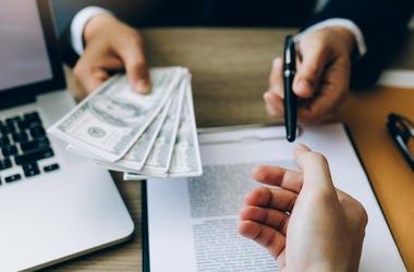 Mortgage, Cash, Pen, Contract, Businessman