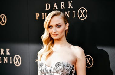 """HOLLYWOOD, CALIFORNIA - JUNE 04: (EDITORS NOTE: Image has been processed using digital filters) Sophie Turner attends the premiere of 20th Century Fox's """"Dark Phoenix"""" at TCL Chinese Theatre on June 04, 2019 in Hollywood, California."""