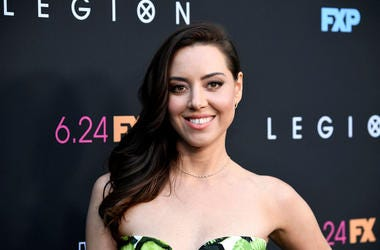 "Aubrey Plaza attends the LA Premiere Of FX's ""Legion"" Season 3 at ArcLight Hollywood on June 13, 2019 in Hollywood, California."