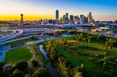 Dallas, Skyline, Buildings, Skyscrapers
