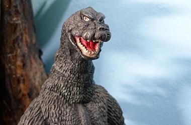 Godzilla, Plastic Toy, Close Up