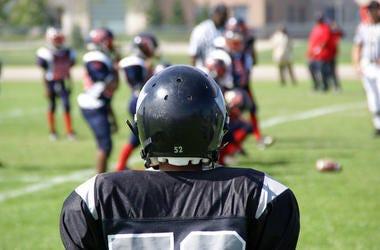 Football, Player, Kid, Youth, Pee Wee Football