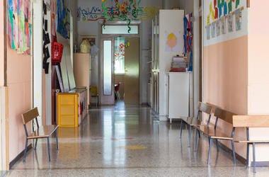 Kindergarten, Hallway, Elementary School