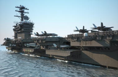 Navy, Aircraft Carrier, Crew, Planes