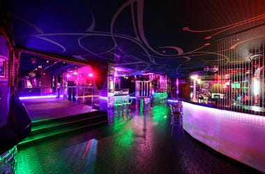 Nightclub, Dance, Floor, Club, Bar, Neon Lights, Empty