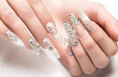 Wedding, Nails, Manicure, Bride