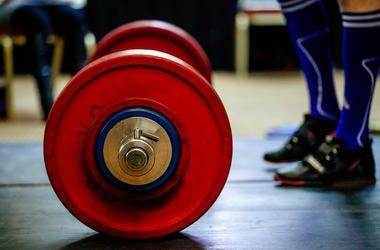 Barbell, Deadlift, Weights, Powerlift, Feet, Mat,