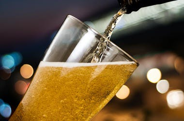 Beer, Pouring, Glass, Tap