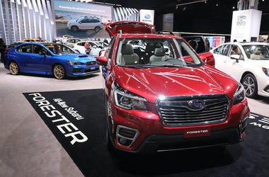 Subaru, Forester, Autoshow, New York International Auto Show, 2018