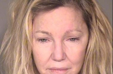 June 24, 2018; Ventura, CA, USA; Heather Locklear booking photo released by the Ventura County Sheriff s Office. Locklear was arrested on June 24 2018 at 11:30 p.m. and charged with two misdemeanor counts of Battery Upon An Officer And Emergency Personnel
