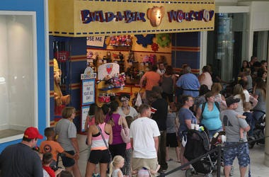 Build-A-Bear, Workshop, Store, Customers, Line