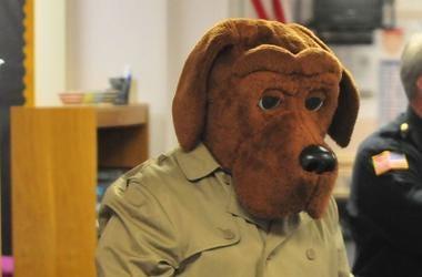 McGruff the Crime Dog, Kindergarten Class, Costume, 2018