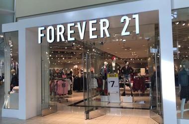 Forever 21, Storefront, Mall, 2019