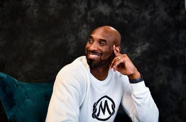 Kobe Bryant, Pose, Office, Smile, 2020