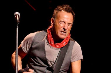 Bruce Springsteen, Concert, Guitar Solo, The River Tour, 2016
