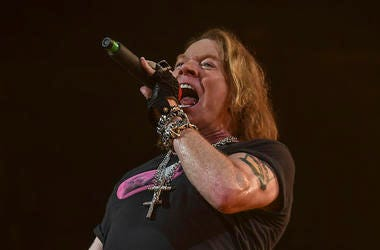 Axl Rose, Guns N' Roses, Singing, Concert, BB&T Center, 2016