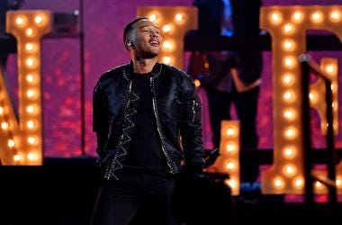 John Legend, Smiling, Halftime, NBA All Star Game, 2017