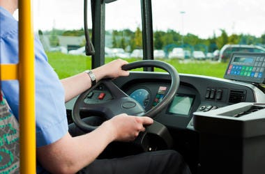 Bus Driver, Steering Wheel, Seat