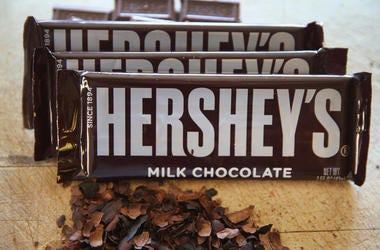 3 Hershey's milk chocolate bars