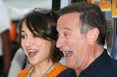 Zelda Williams, Robin Williams, Red Carpet, Happy Feet, Premiere, 2006