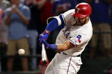 Joey Gallo, Texas Rangers, Batting, Home Run, 2017