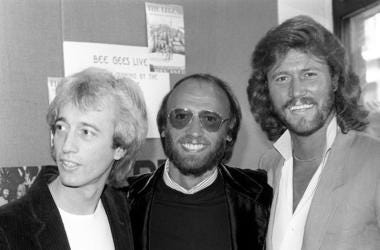 Bee Gees, Robin Gibb, Maurice Gibb, Barry Gibb,1983
