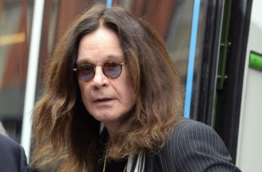 Ozzy Osbourne, Unimpressed, Train, Staring, Sunglasses, 2018