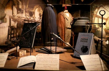 Harry Potter, Museum, Display, Robes, Harry Potter: The Exhibition