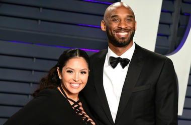Kobe Bryant, Vanessa Bryant, Vanity Fair Oscar Party, 2019